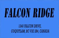 Falcon Ridge 1240 FALCON V3E 2B4
