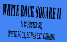 White Rock Square Ii 1442 FOSTER V4B 3X7
