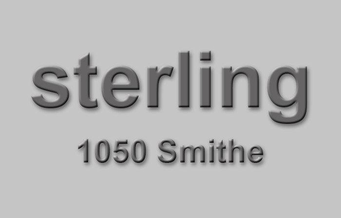 Sterling 1050 SMITHE V6E 4T4