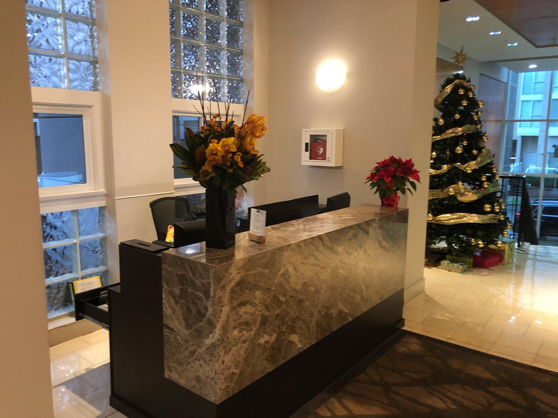 1501 Howe Lobby Concierge!