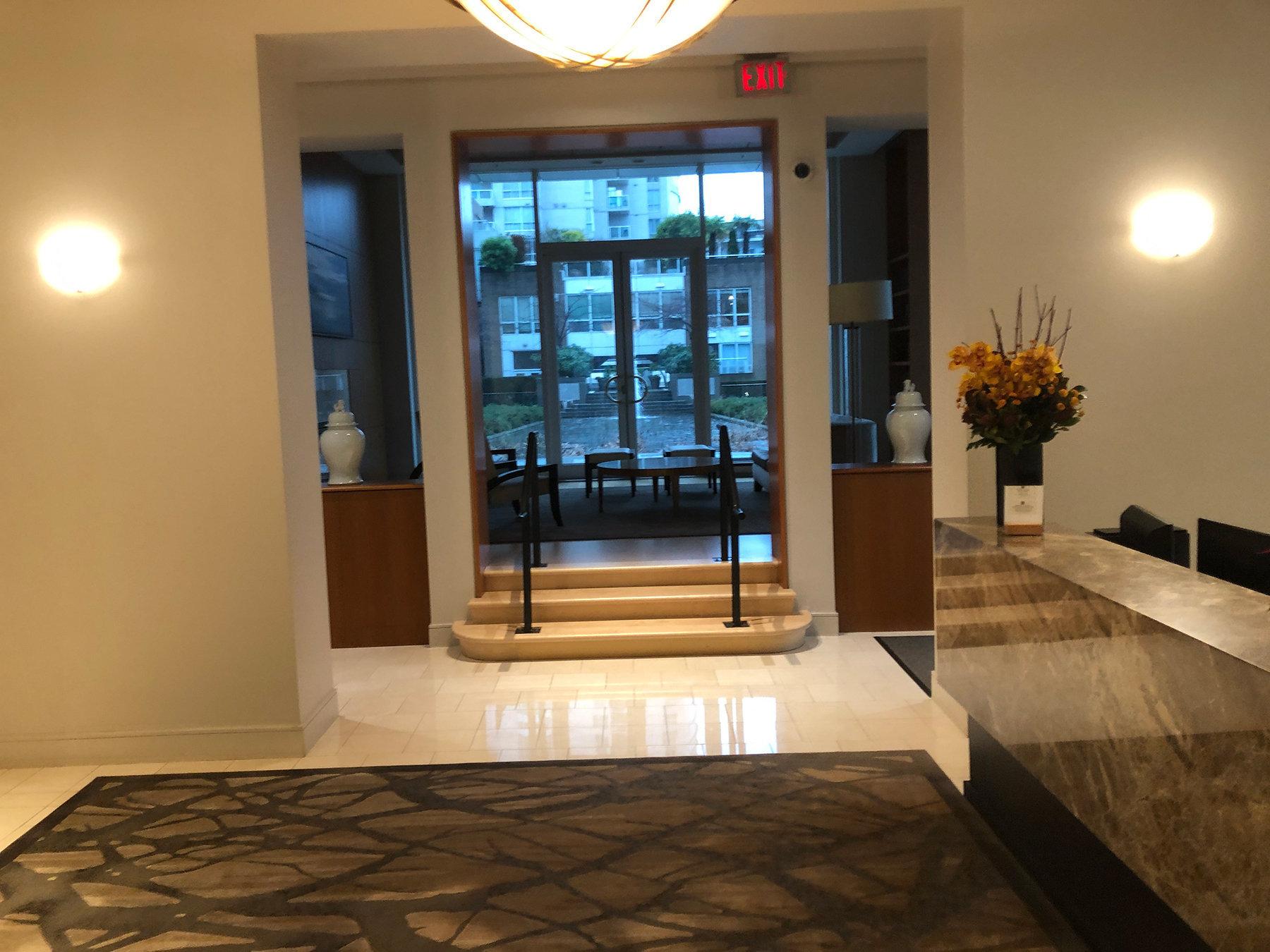 1501 Howe Lobby!
