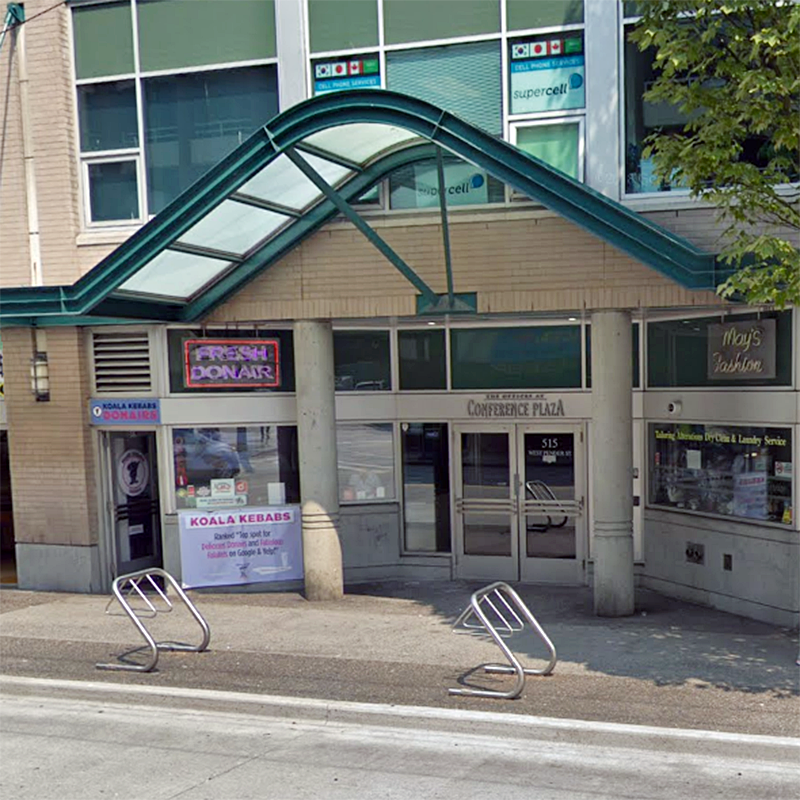 The Offices At Conference Plaza 515 West Pender St!