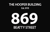 The Hooper Building 869 BEATTY V6B 2M6