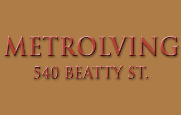 Metroliving 540 BEATTY V6B 2L3