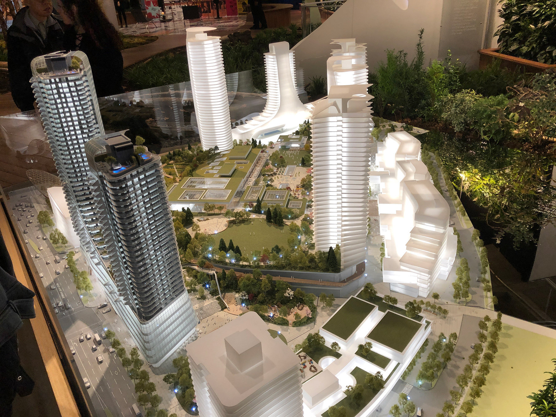 OakRidge Redevelopment Display Model!