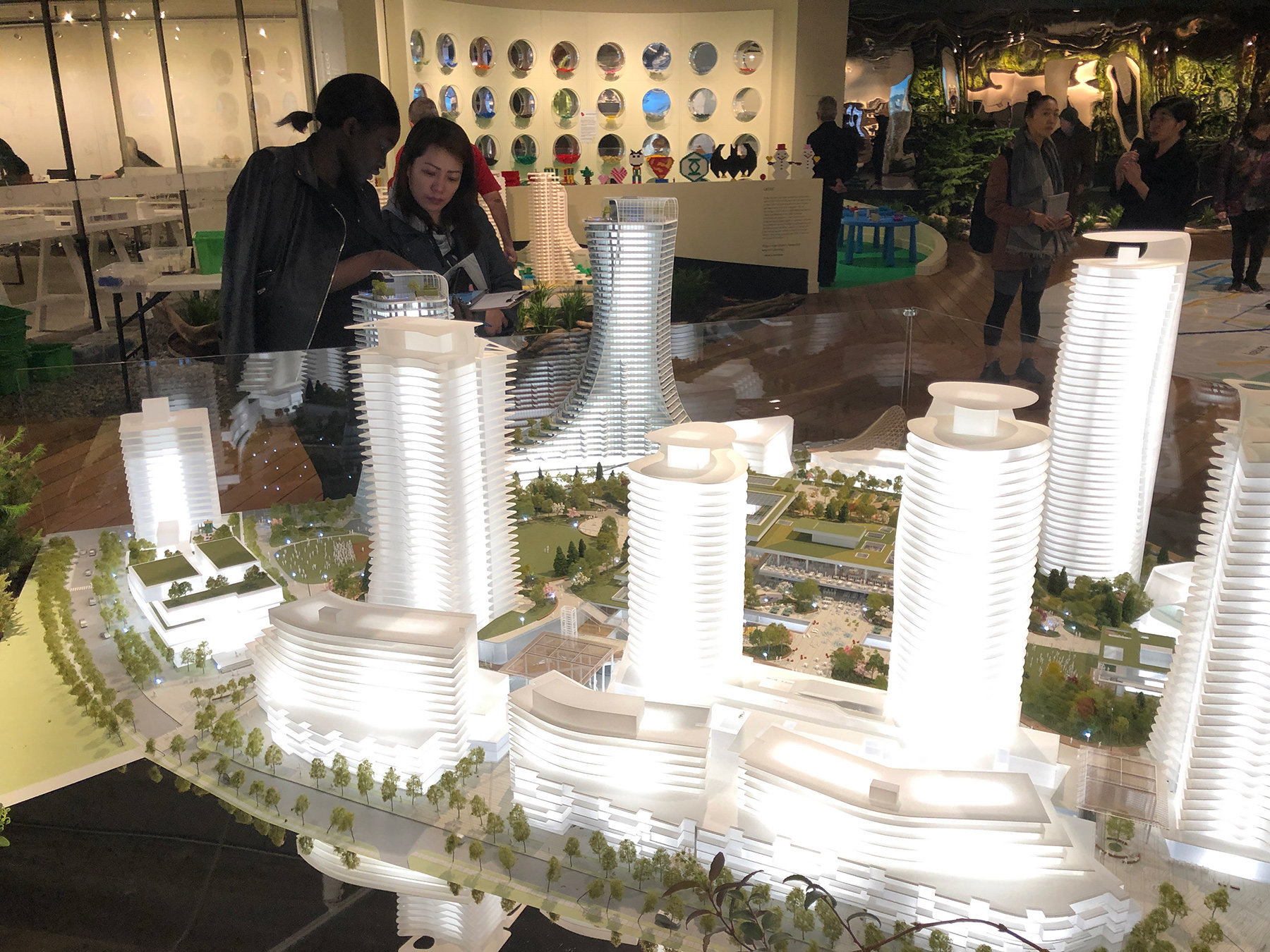 OakRidge Redevelopment Display Model!