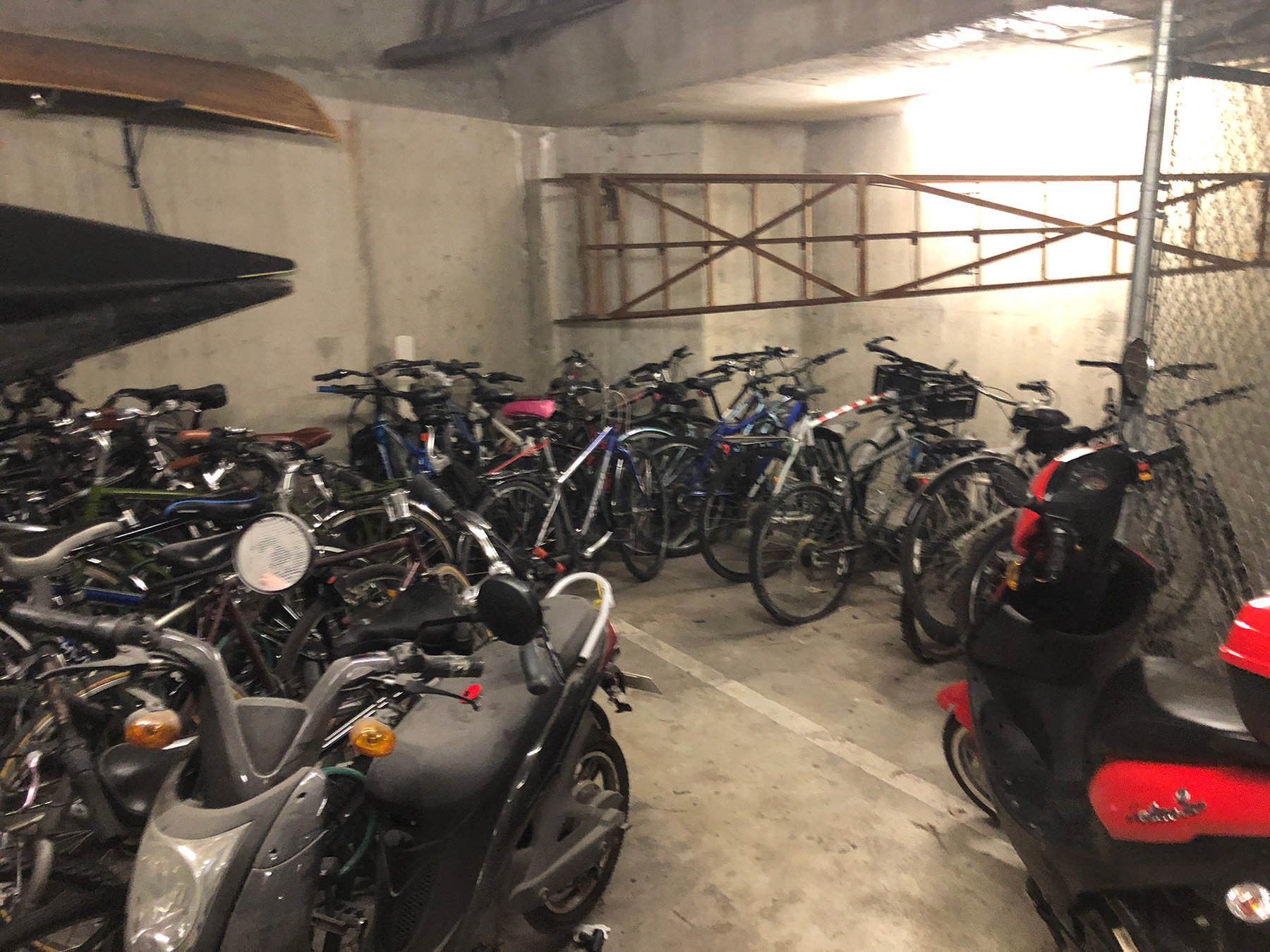1040 Pacific Bike Storage!