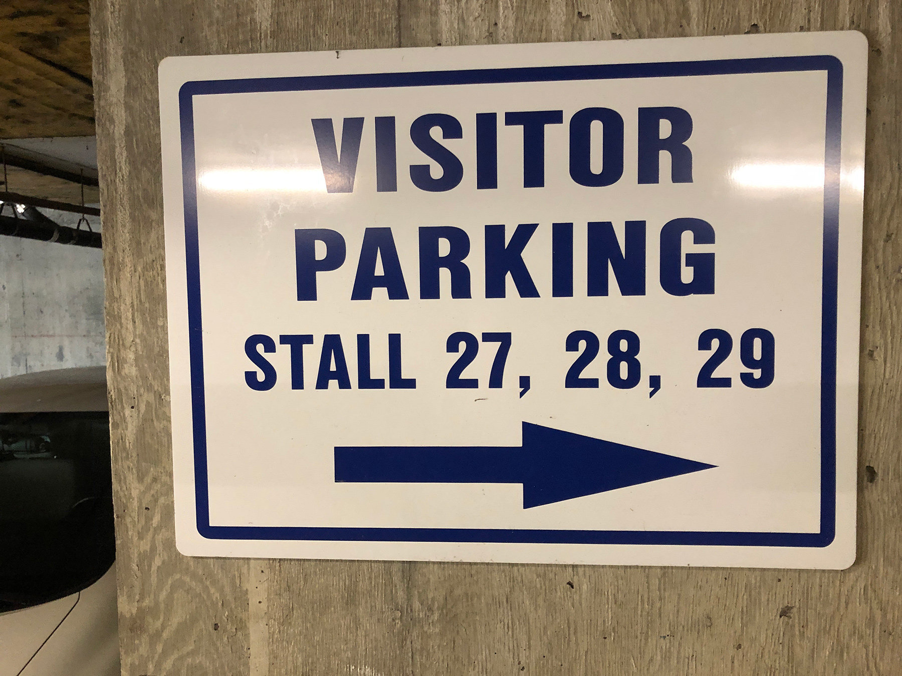 1040 Pacific Visitor Parking!
