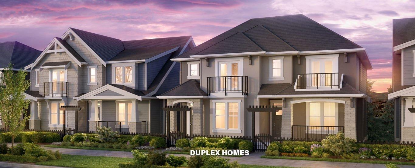 Duplex Homes!