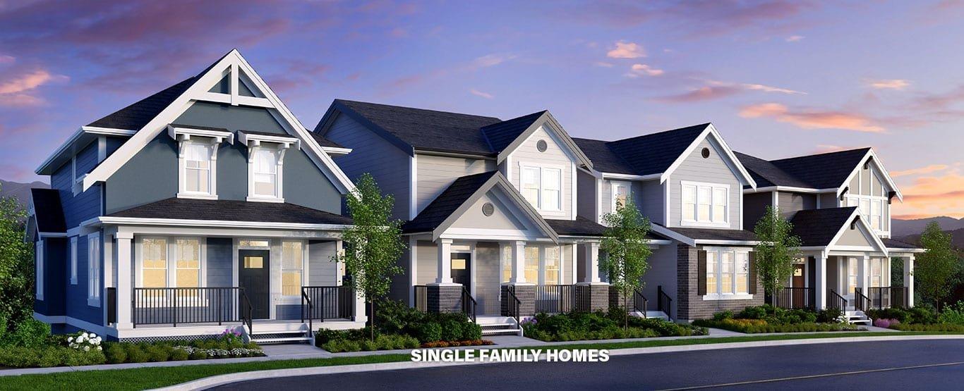 Single Family Homes!