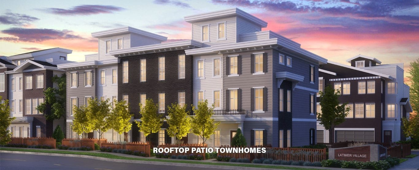Rooftop Patio Townhomes!
