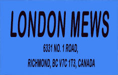 London Mews 6331 NO 1 V7C 1T3