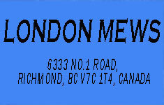 London Mews 6333 NO 1 V7C 1T4