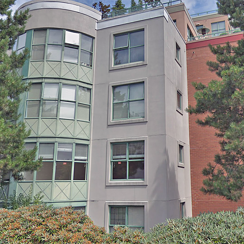 Pacifica Southgate Tower - 503 West 16th Ave. - Typical building exterior!