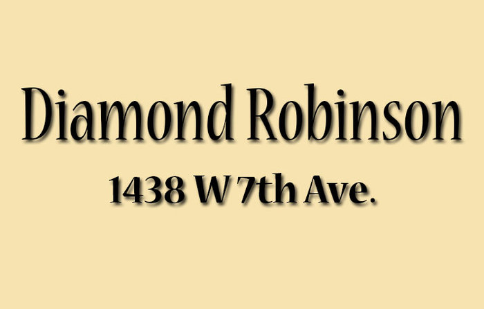 Diamond Robinson 1438 7TH V6H 1C1