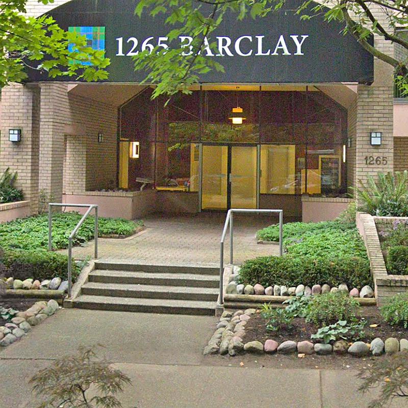 1265 Barclay Street - Exterior!