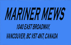 Mariner Mews 1040 BROADWAY V5T 4N7