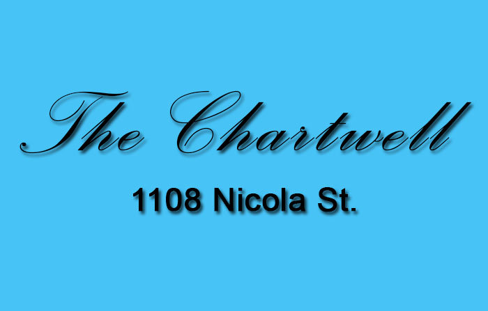 The Chartwell 1108 NICOLA V6G 2E2