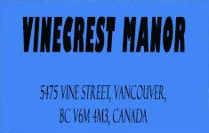 Vinecrest Manor Ltd 5475 VINE V6M 4M3