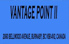 Vantage Point Ii 2060 BELLWOOD V5B 4V2