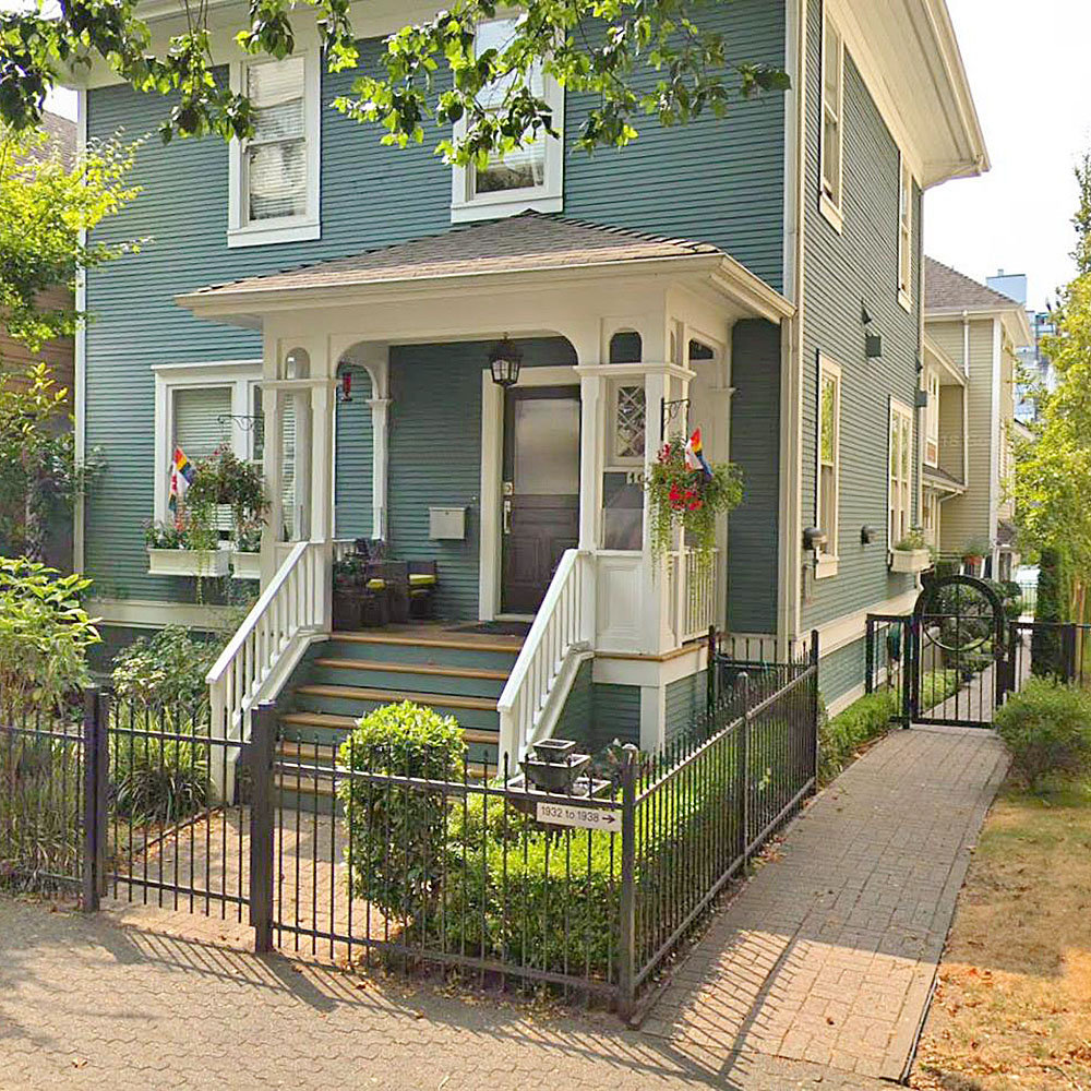Stanley Park Mews at 1934 Haro St. - Typical building exterior!