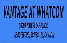 Vantage At Whatcom 36099 WATERLEAF V3G 1E1