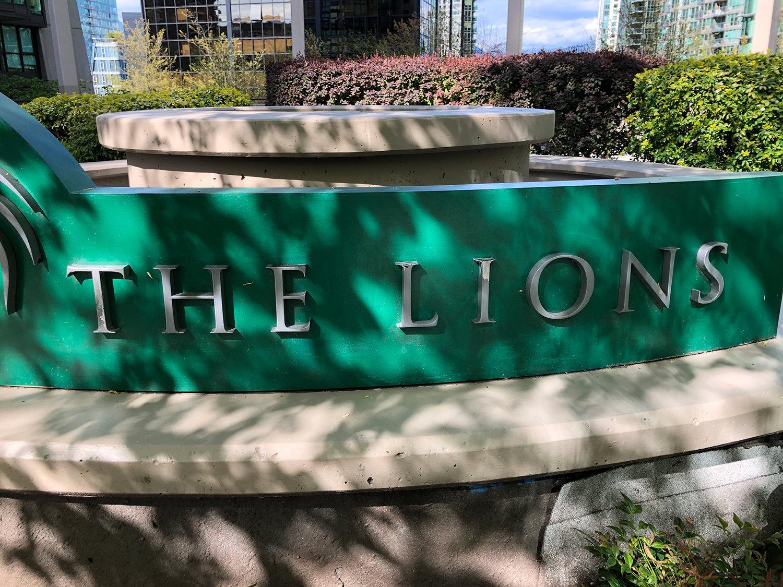 The Lions - 1331-1367 Alberni St.!
