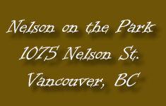 Nelson on the Park 1075 Neslon V6E 1J1