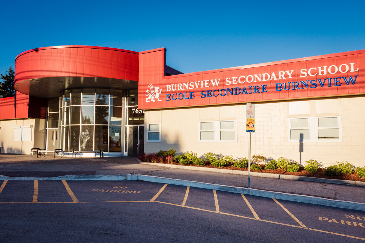 Burnsview Secondary!
