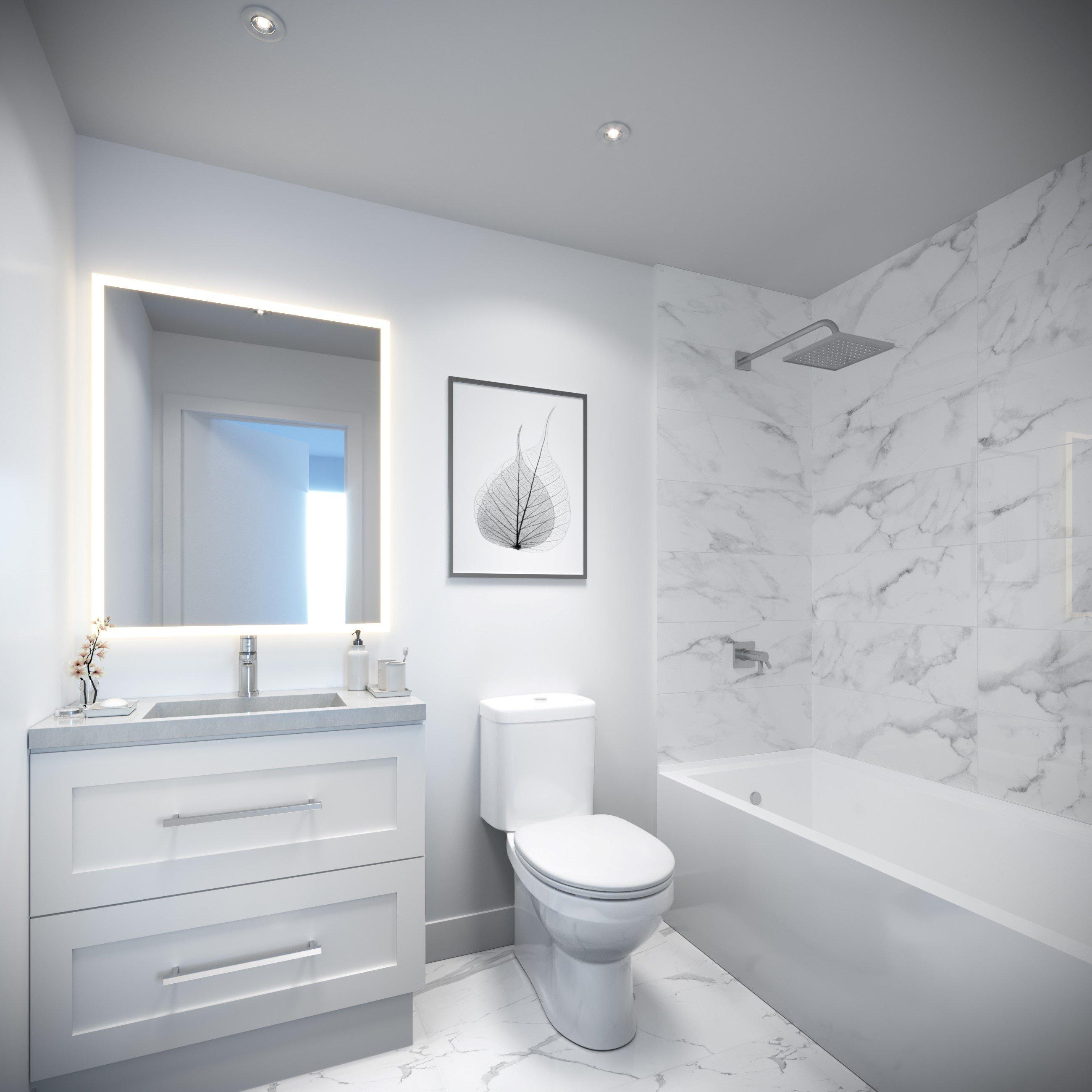 ELIOT 2688 Duke Street Bathroom Light Scheme!