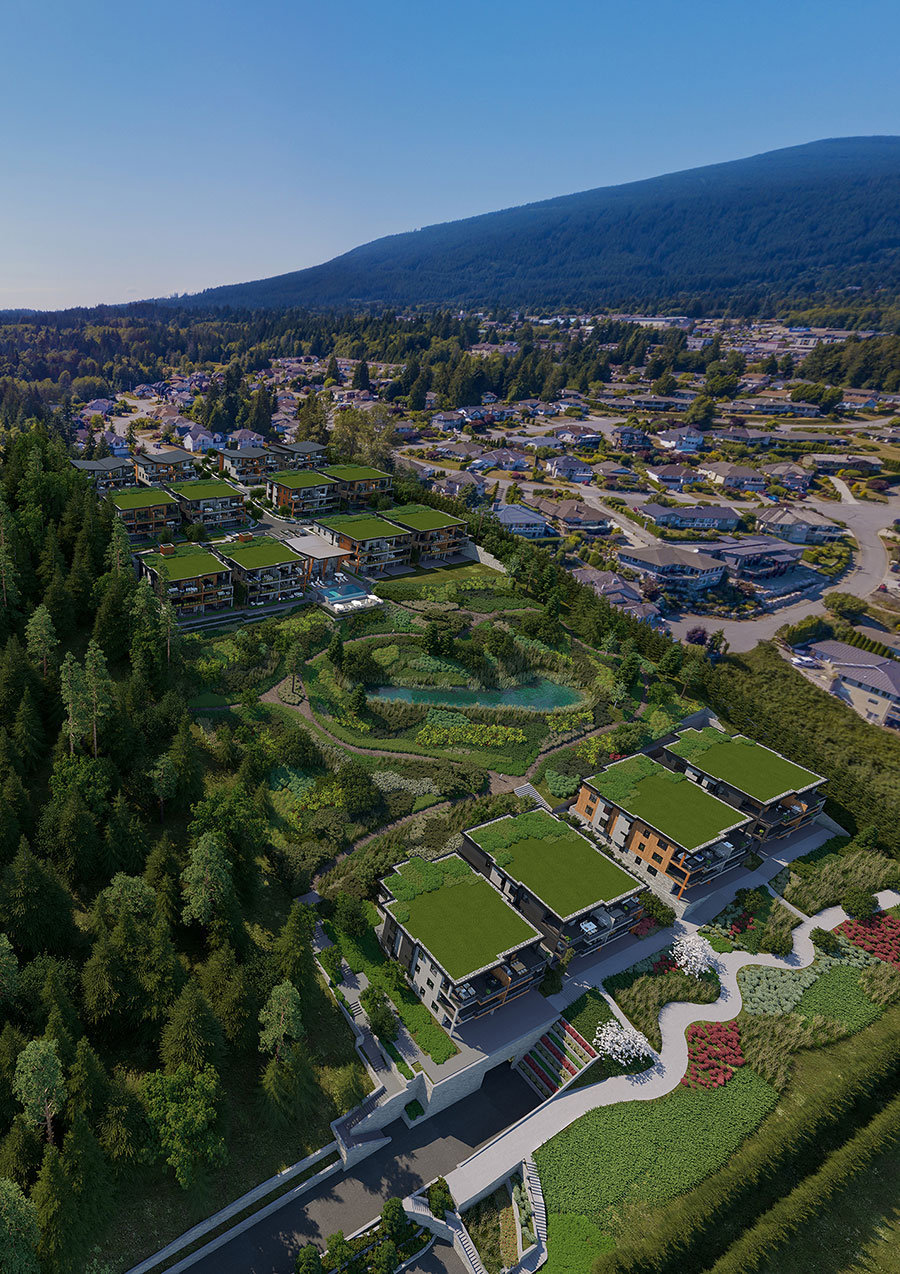 Eagleview Heights Complex From The Air!