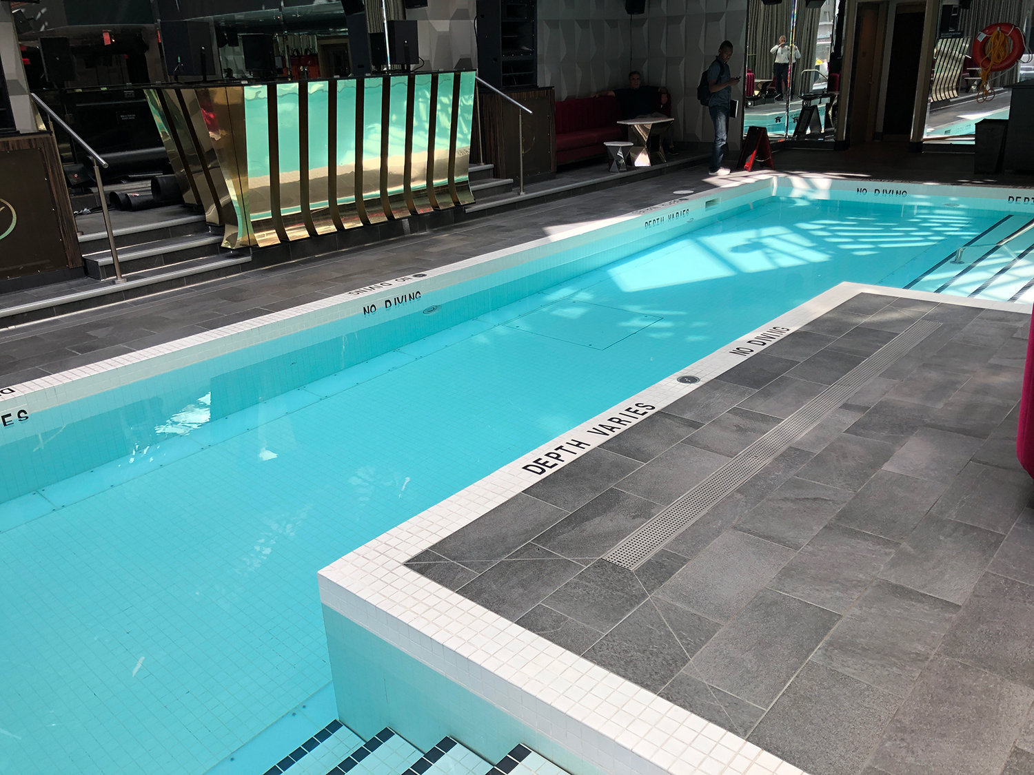 Trump Tower Hotel Swimming Pool!