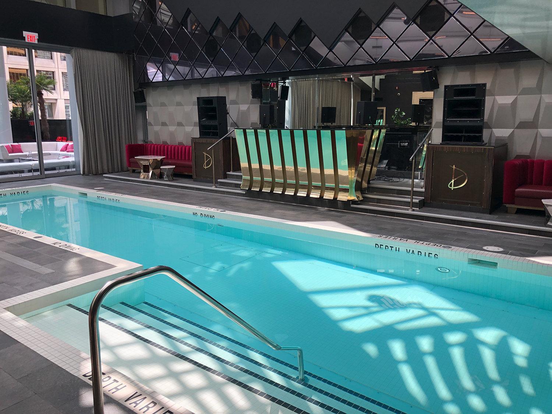 Trump Tower Hotel Pool!