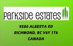 Parkside Estates 9580 ALBERTA V6Y 1T6