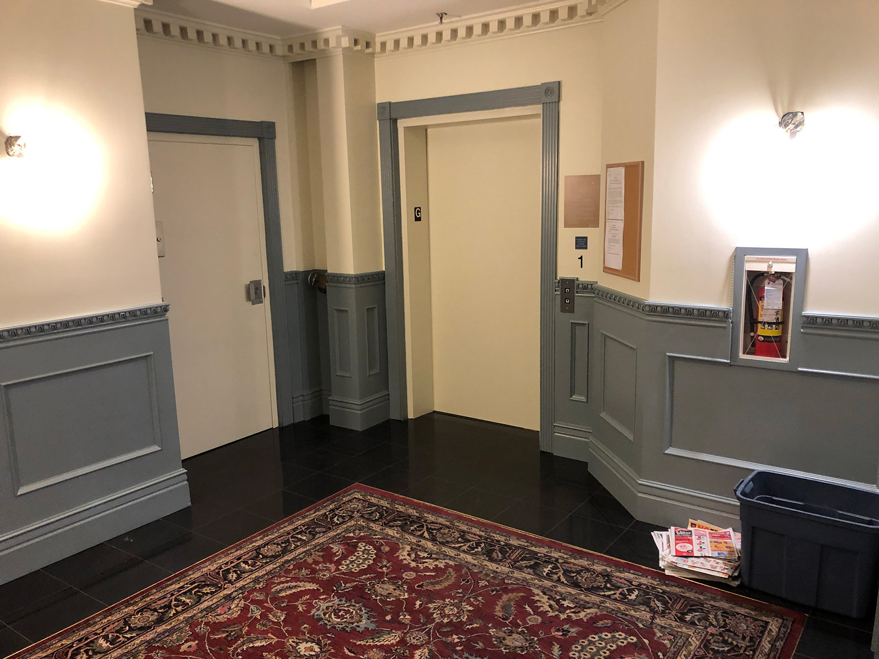 Kerrisdale Place 5723 Balsam Lobby Elevator!