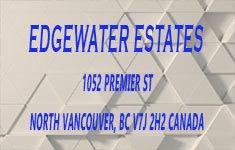 Edgewater Estates 1052 PREMIER V7J 2H2