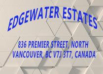 Edgewater Estates 836 PREMIER V7J 3T7