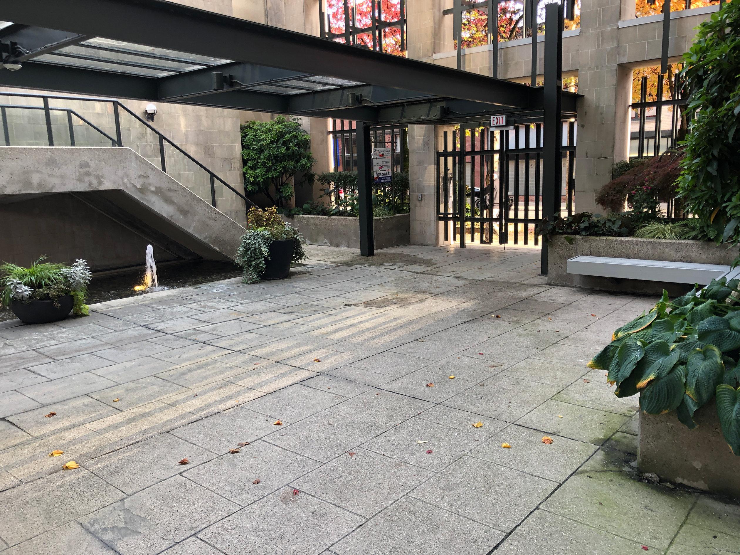 City Crest Courtyard!