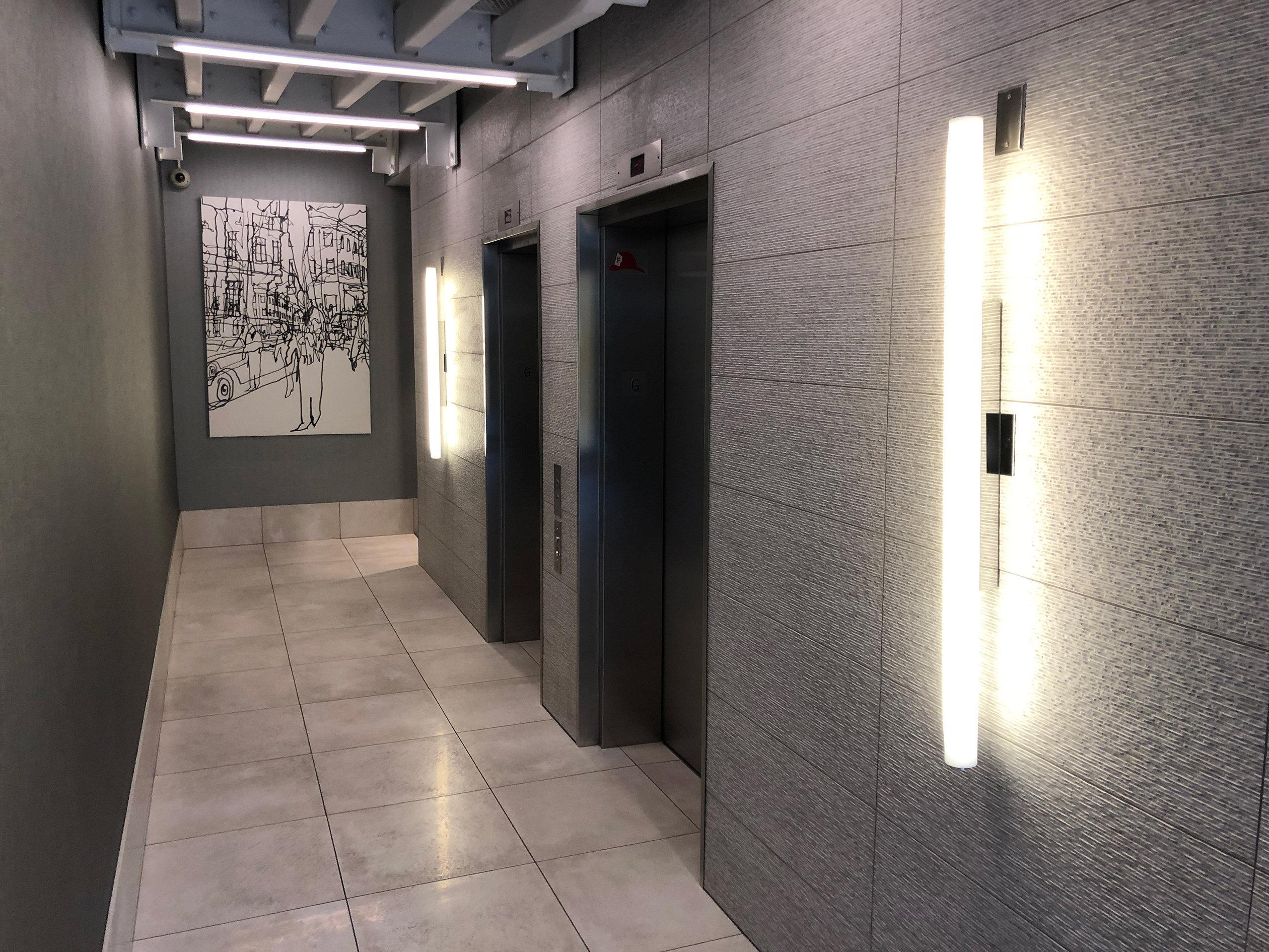 City Crest Lobby Elevators!