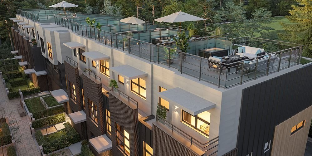 Rooftop Patio - 3490 Mt. Seymour Parkway, North Vancouver, BC V0V 0V0, Canada!