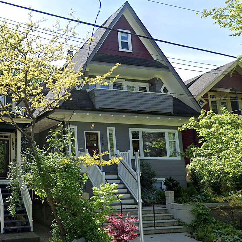 1836 Grant Street, Vancouver!