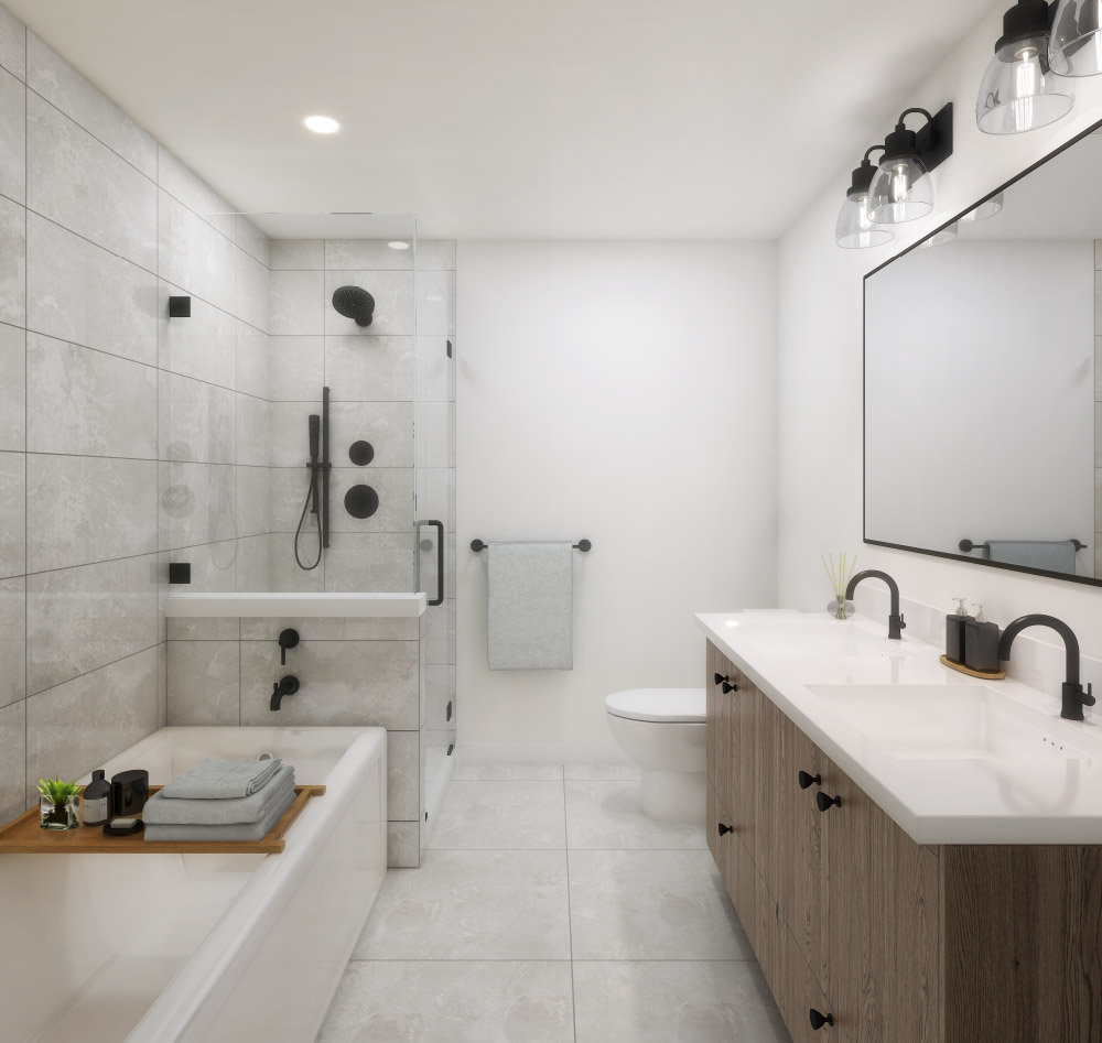 Bathroom - 22255 Dewdney Trunk Rd, Maple Ridge, BC V2X 3J1, Canada!