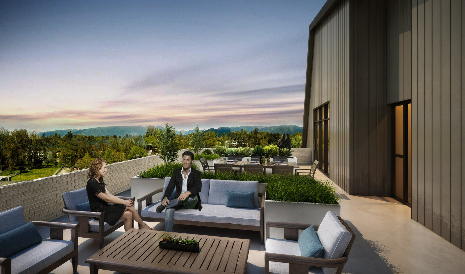 Rooftop Terraces - 22255 Dewdney Trunk Rd, Maple Ridge, BC V2X 3J1, Canada!