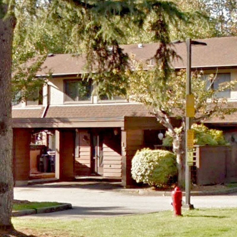 Prince Charles Estates - 9453 Prince Charles Blvd. - Typical part of the complex!