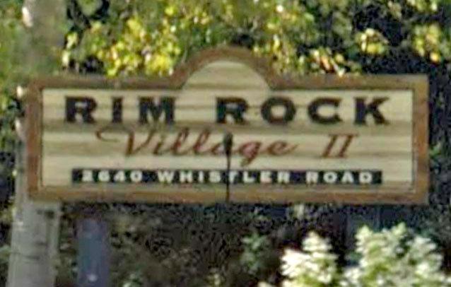 Rim Rock Village 2 2640 WHISTLER V0N 1B2