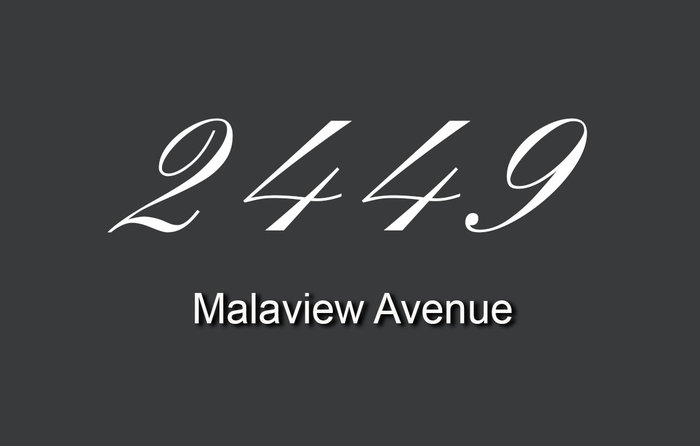 2449 Malaview 2449 Malaview V8L 2G4