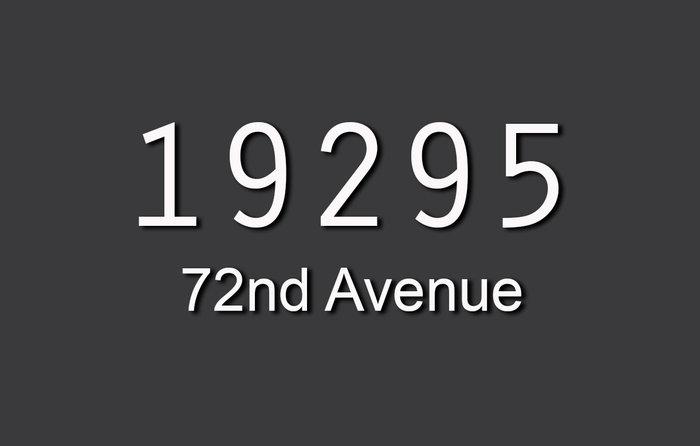 19295 72nd 19295 72ND V4N 5Y3