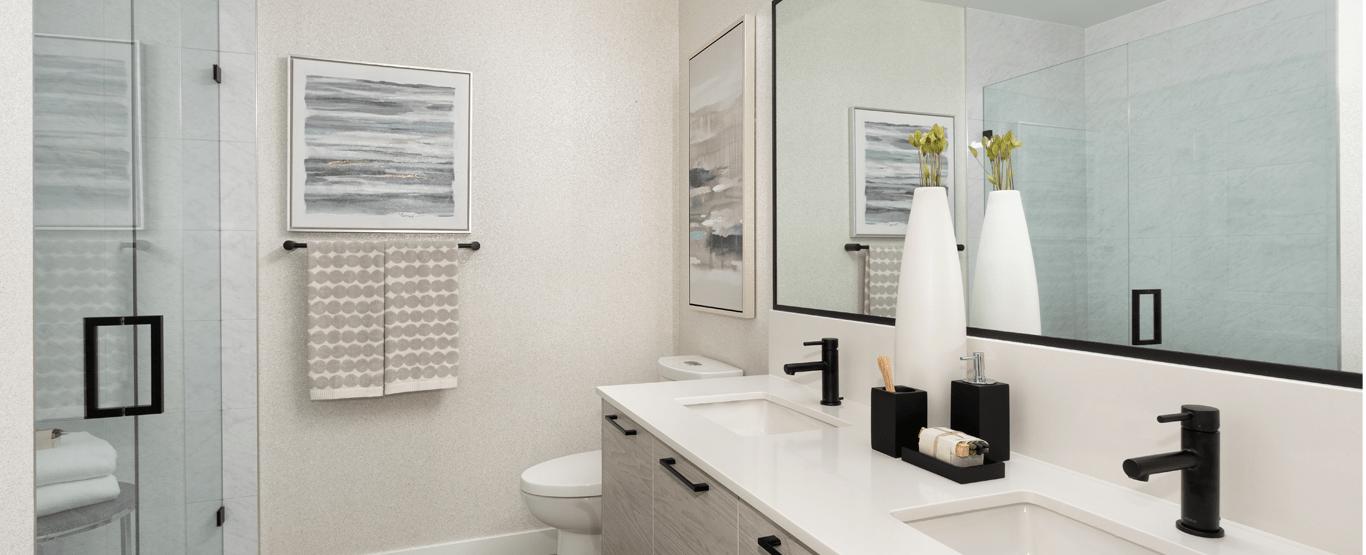 Bathroom - 8242 200 St, Langley, BC V2Y 2A7, Canada!