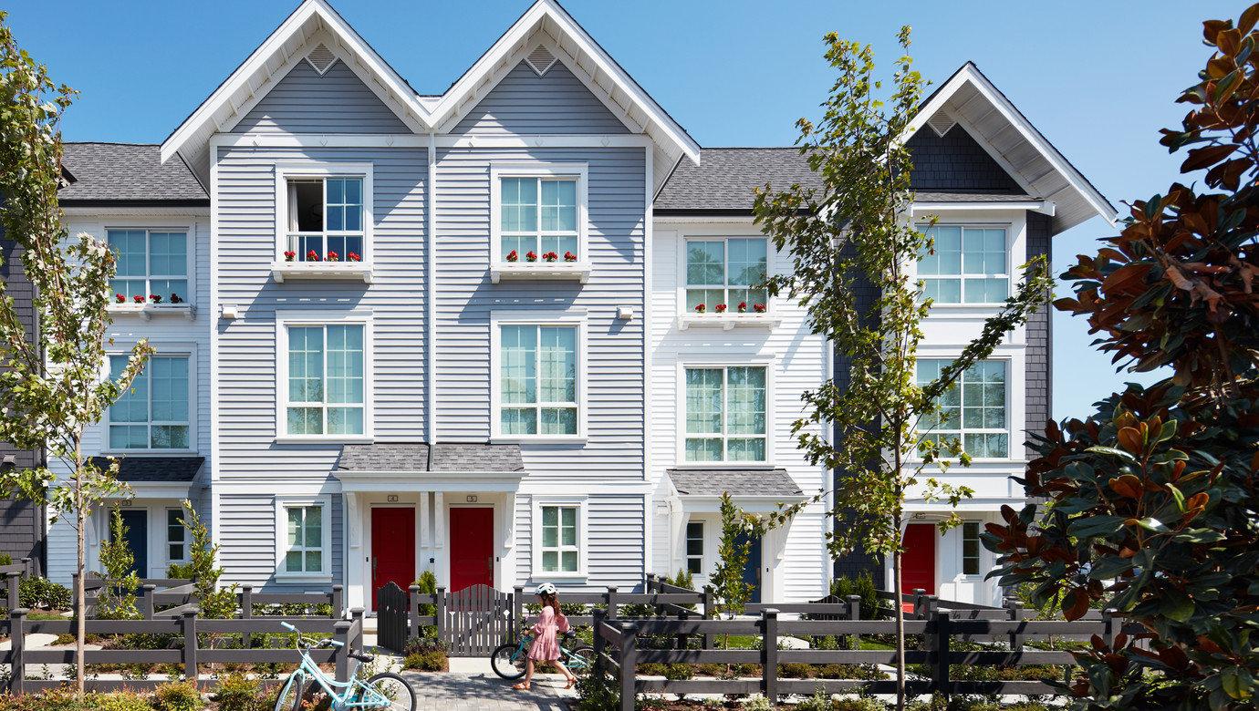 Townhouse Exterior - 2838 Livingstone Ave, Abbotsford, BC V2T 0J1, Canada!