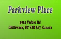 Parkview Place 5904 VEDDER V2R 3E7